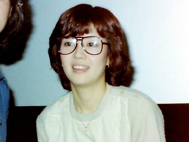 デビュー当時の戸田恵子